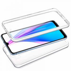 funda silicona 3d xiaomi redmi note 8t transparente frontal trasera2