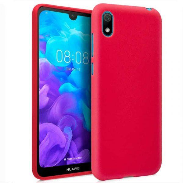 Funda Silicona Huawei Y5 2019 Rojo 1