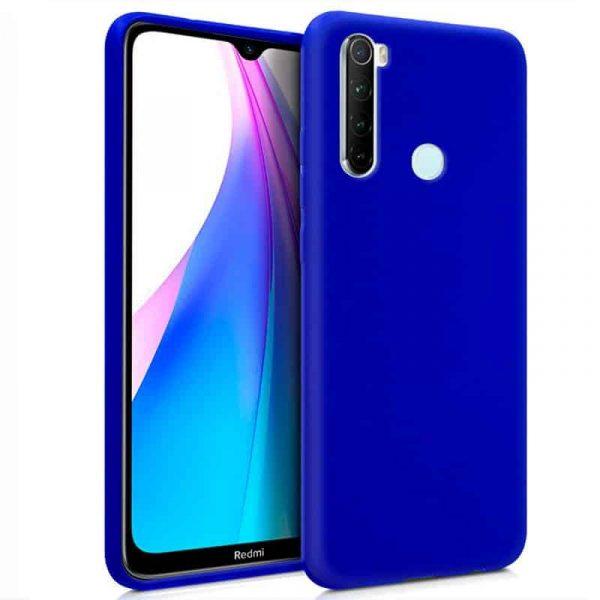 funda silicona xiaomi redmi note 8t azul1