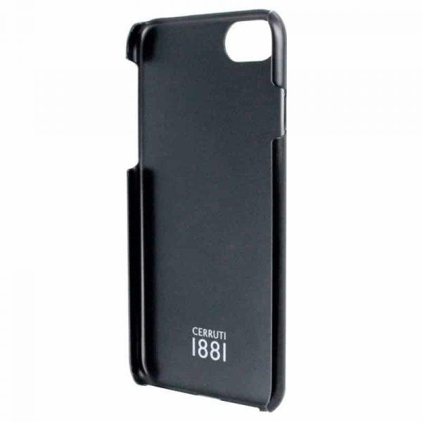 Carcasa iPhone 7 / iPhone 8 / SE 2020 Cerruti Piel Negro 3