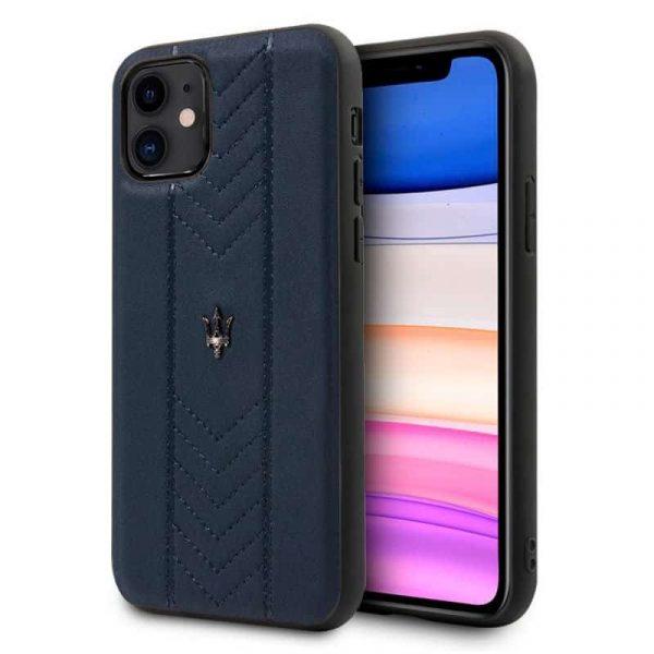 carcasa iphone 11 licencia maserati piel marino1