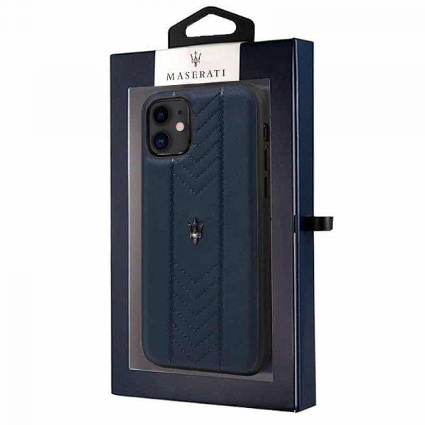 carcasa iphone 11 licencia maserati piel marino2