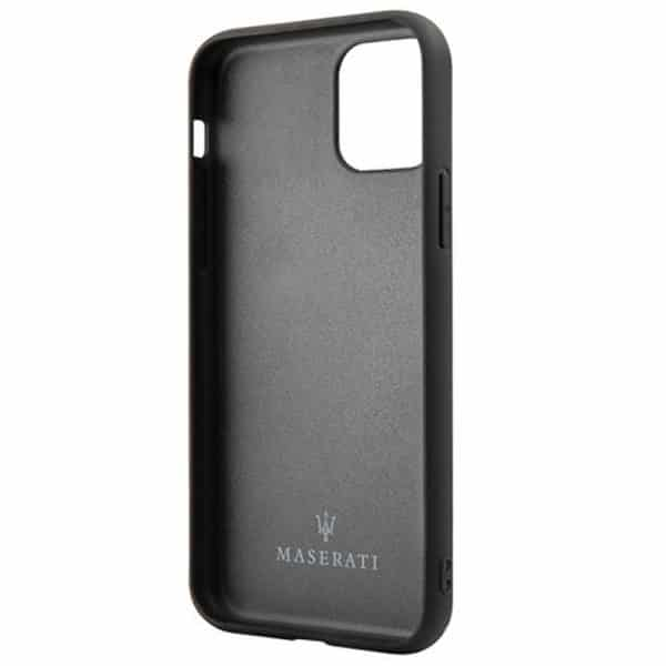 carcasa iphone 11 licencia maserati piel marino3