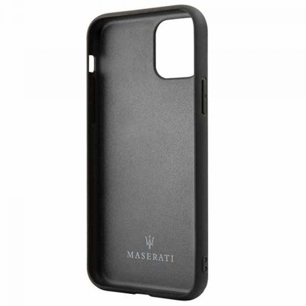 carcasa iphone 11 licencia maserati piel rojo3