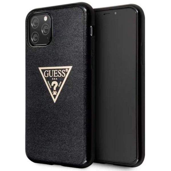carcasa iphone 11 pro licencia guess negro1