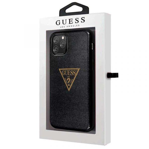 carcasa iphone 11 pro licencia guess negro2