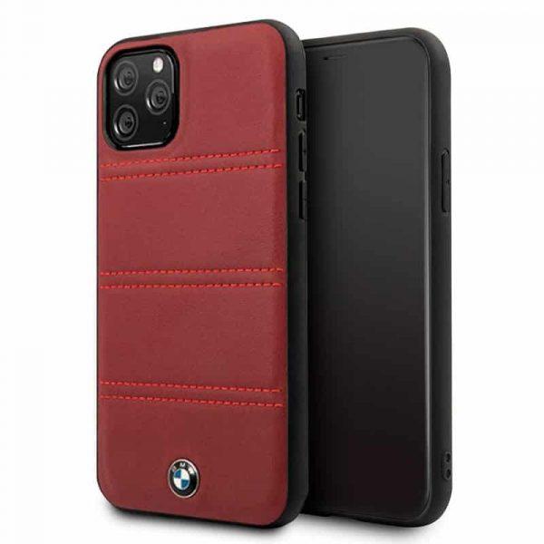 carcasa iphone 11 pro max licencia bmw piel rojo1