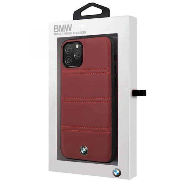carcasa iphone 11 pro max licencia bmw piel rojo2