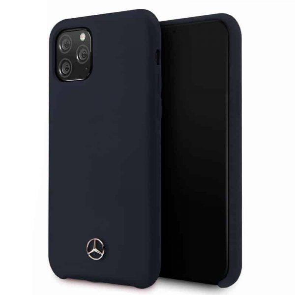 carcasa iphone 11 pro max licencia mercedes benz azul1