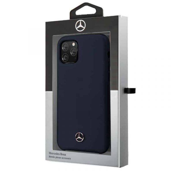 carcasa iphone 11 pro max licencia mercedes benz azul2