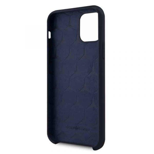 carcasa iphone 11 pro max licencia mercedes benz azul3