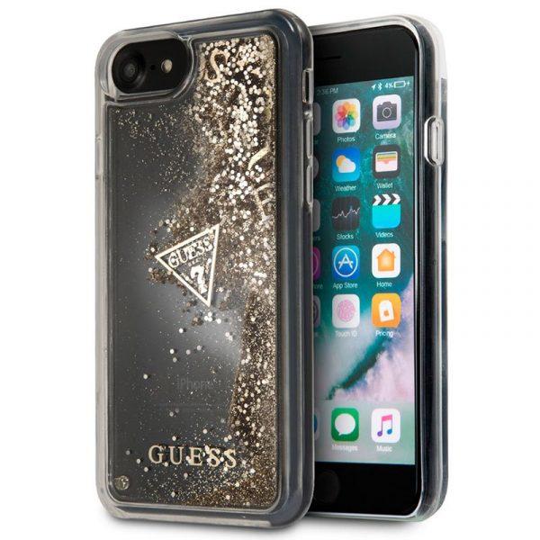 carcasa iphone 6 6s licencia guess liquid dorado1