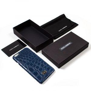 carcasa iphone 6 plus 6s plus licencia dolce and gabbana azul 2