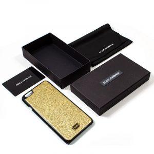carcasa iphone 6 plus 6s plus licencia dolce and gabbana dorado 2