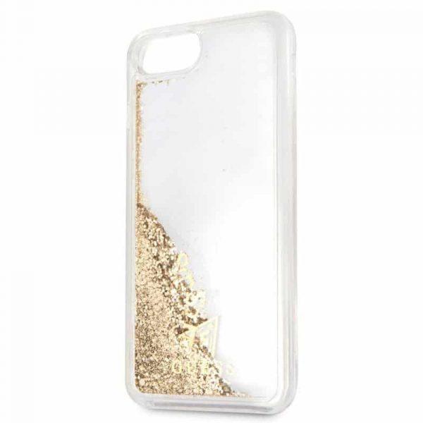 carcasa iphone 6 plus licencia guess liquid dorado3