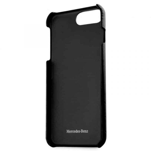 carcasa iphone 6 plus licencia mercedes benz piel negro3