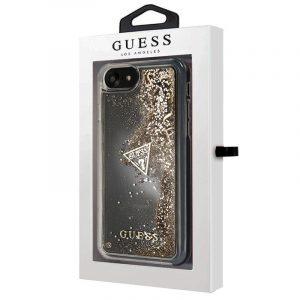 Carcasa iPhone 7 / iPhone 8 / SE 2020 Licencia Guess Liquid Dorado 4