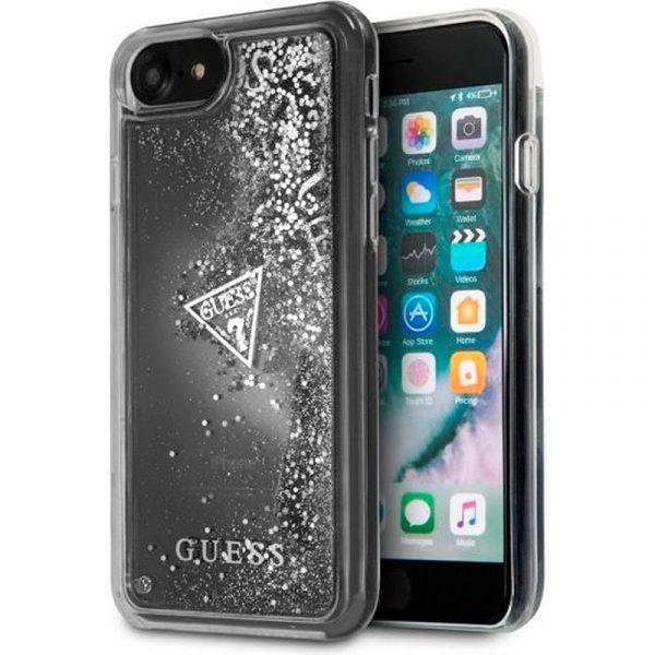 Carcasa iPhone 7 / iPhone 8 / SE 2020 Guess Liquid Plata 1