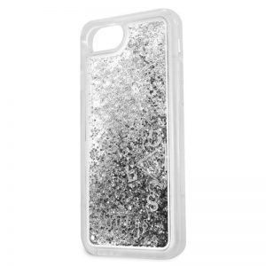 Carcasa iPhone 7 / iPhone 8 / SE 2020 Guess Liquid Plata 5