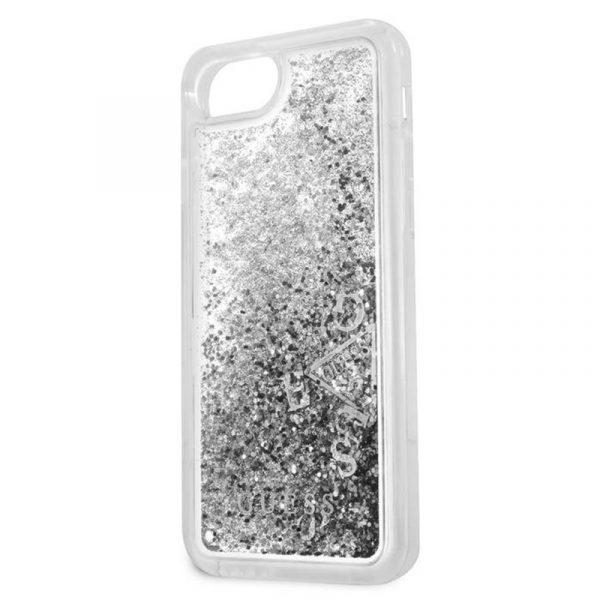Carcasa iPhone 7 / iPhone 8 / SE 2020 Guess Liquid Plata 3