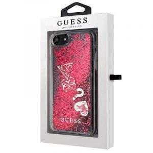 Carcasa iPhone 7 / iPhone 8 / SE 2020 Guess Liquid Rojo 4