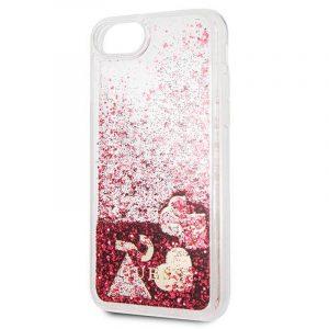 Carcasa iPhone 7 / iPhone 8 / SE 2020 Guess Liquid Rojo 5