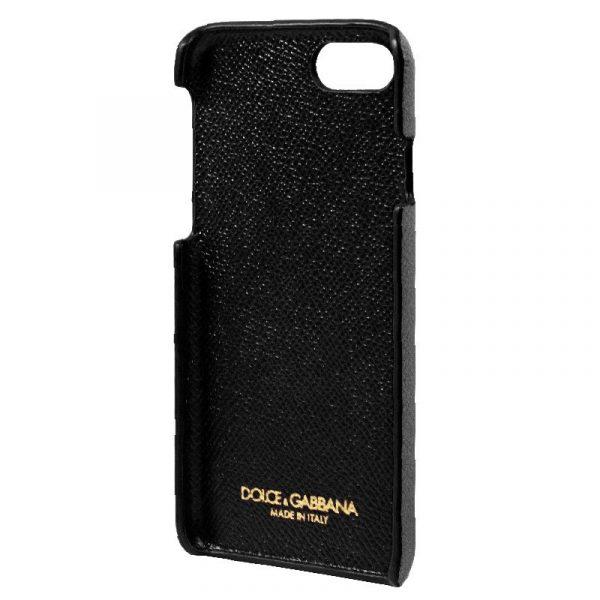 Carcasa iPhone 7 / iPhone 8 / SE 2020 Dolce Gabbana Perlas Flores 4
