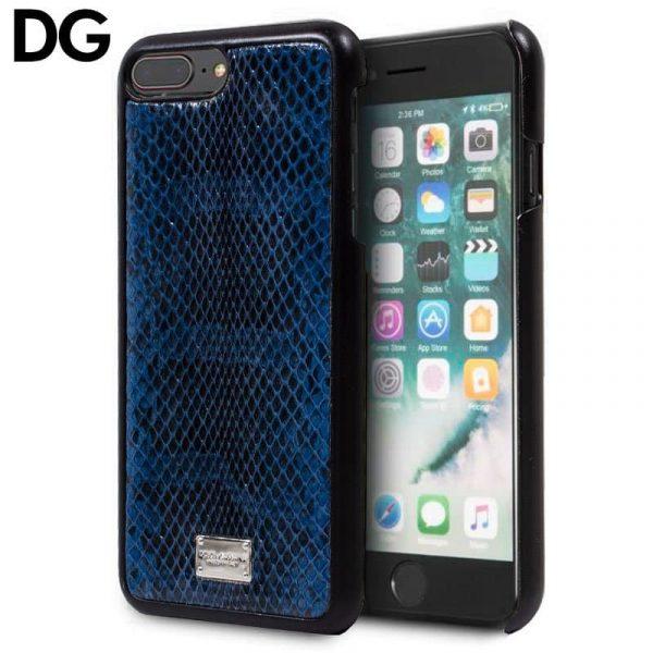 Carcasa iPhone 7 Plus / iPhone 8 Plus Dolce Gabbana Azul 1
