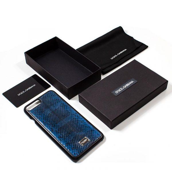 Carcasa iPhone 7 Plus / iPhone 8 Plus Dolce Gabbana Azul 2