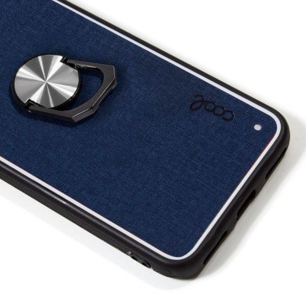 Carcasa Samsung Galaxy A70 Hard Tela Azul 2