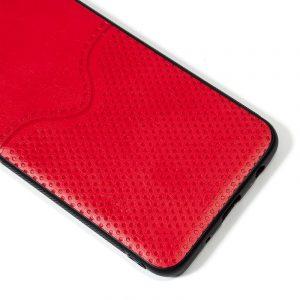 carcasa xiaomi redmi note 7 note 7 pro leather piel rojo2