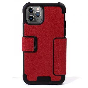 funda flip cover iphone 11 pro max texas rojo2