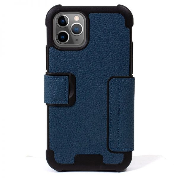 funda flip cover iphone 11 pro texas azul2