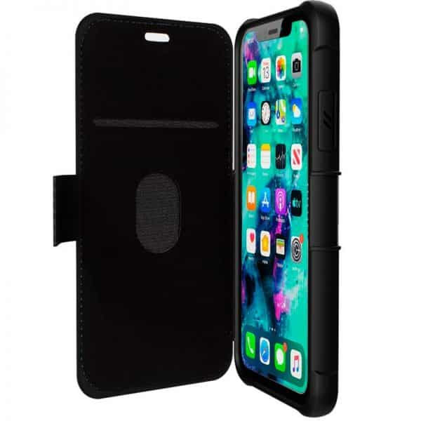 funda flip cover iphone 11 pro texas azul3