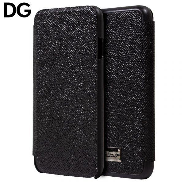 Funda Con Tapa iPhone 7 / iPhone 8 / SE 2020 Dolce Gabbana Negro 1
