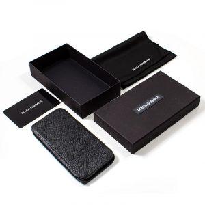 Funda Con Tapa iPhone 7 / iPhone 8 / SE 2020 Dolce Gabbana Negro 5