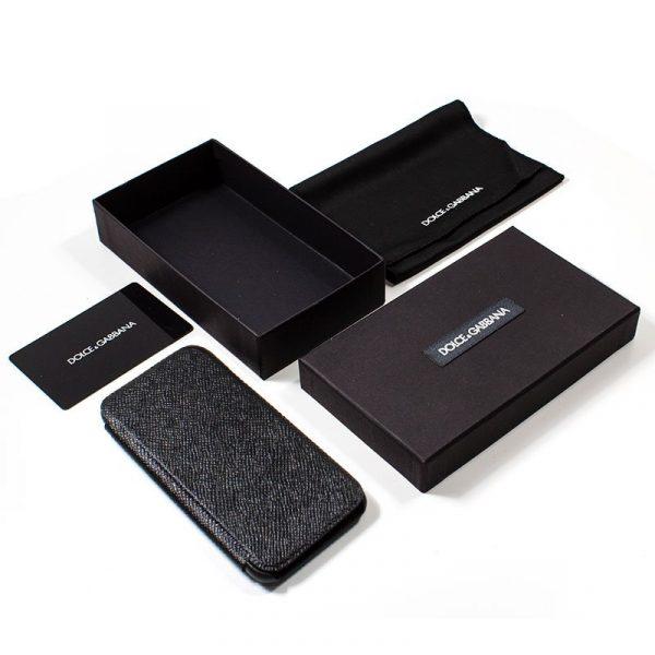 Funda Con Tapa iPhone 7 / iPhone 8 / SE 2020 Dolce Gabbana Negro 3