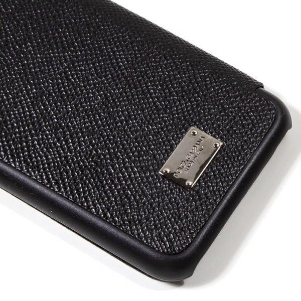 Funda Con Tapa iPhone 7 / iPhone 8 / SE 2020 Dolce Gabbana Negro 2