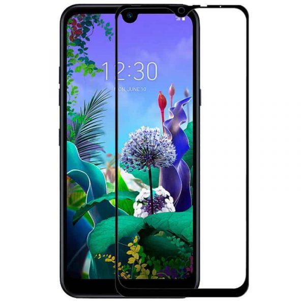 protector pantalla cristal templado lg q60 k50 full 3d negro1