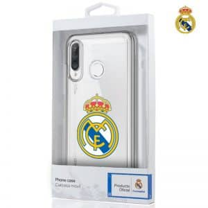 carcasa huawei p30 lite licencia futbol real madrid transparente 2