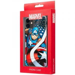 carcasa iphone 11 licencia marvel capitan america 2