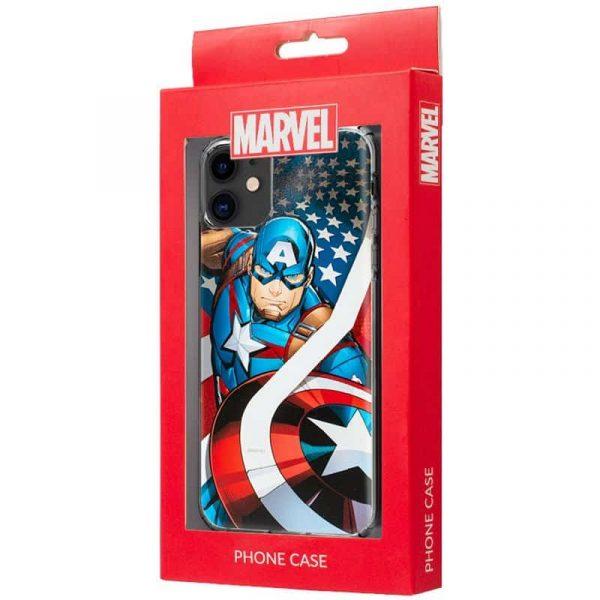 Carcasa iPhone 11 Marvel Capitán América 2