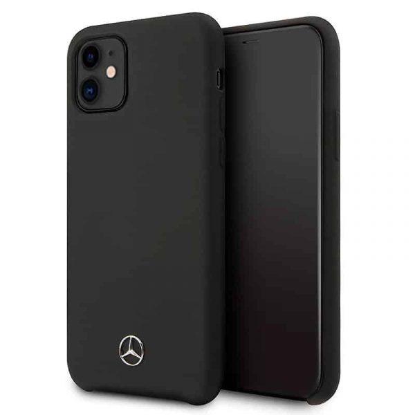 carcasa iphone 11 licencia mercedes benz negro 1