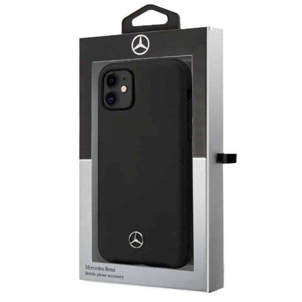 carcasa iphone 11 licencia mercedes benz negro 2