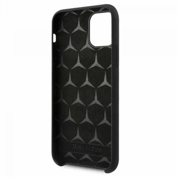 carcasa iphone 11 licencia mercedes benz negro 3