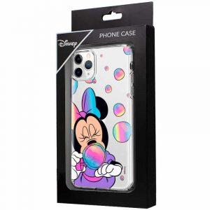 carcasa iphone 11 pro licencia disney minnie burbujas 2