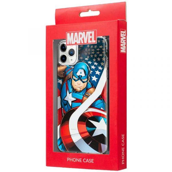 carcasa iphone 11 pro marvel capitan america 2