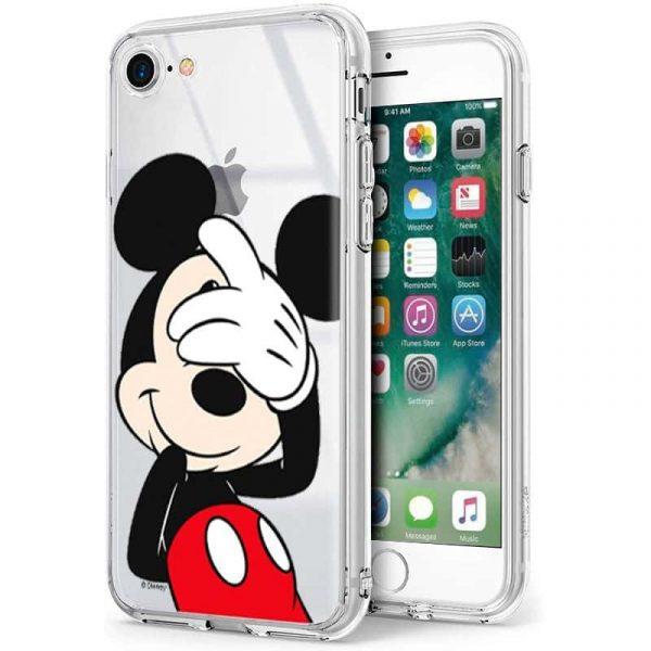 carcasa iphone 7 iphone 8 licencia disney mickey 1