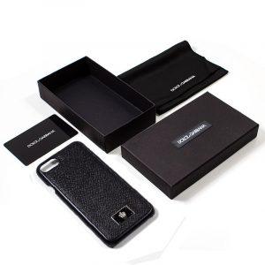 carcasa iphone 7 iphone 8 licencia dolce and gabbana liso negro 2