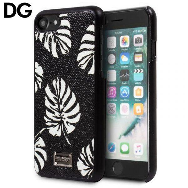 Carcasa iPhone 7 / iPhone 8 / SE 2020 Dolce Gabbana Hojas 1
